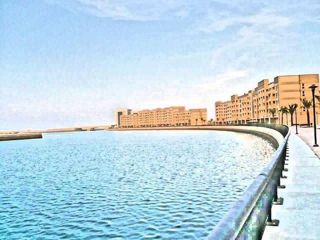 Sea front studio in Mina Al Arab, Ras al Khaimah
