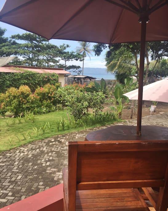 Garden View from Villa Tengiri