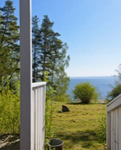 Cottage with views of Lake Vättern/island Gränna