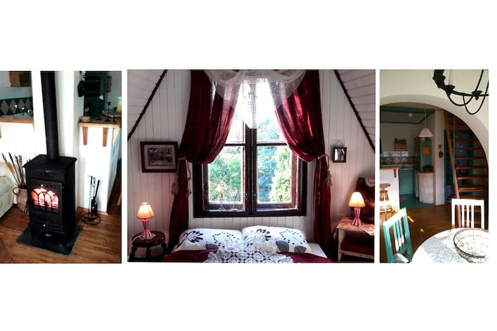 Romantikus Hétvégi Házikó a Dunánál - Komárom - Dom