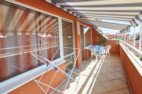 Панорамный апартамент с 2 комнатами