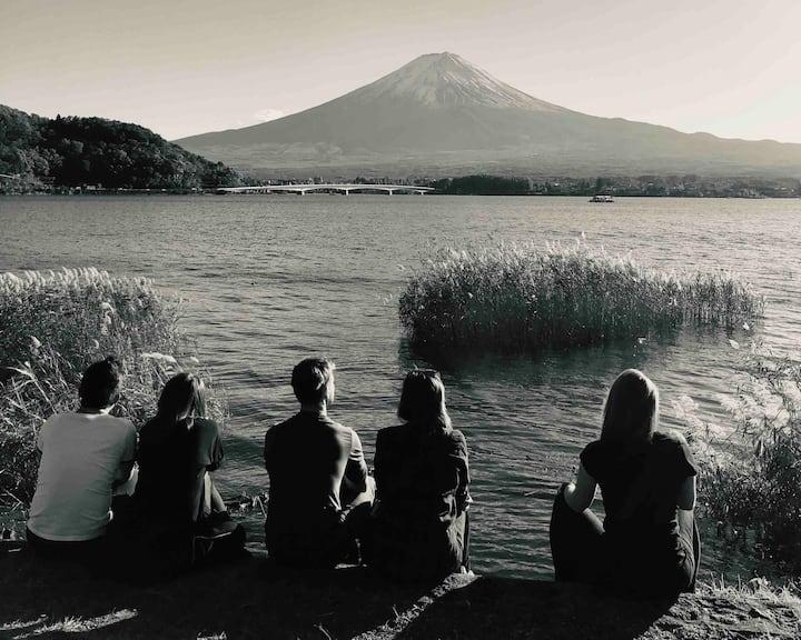 Yasuragiso(Fuji view connecting tatami  2rooms )