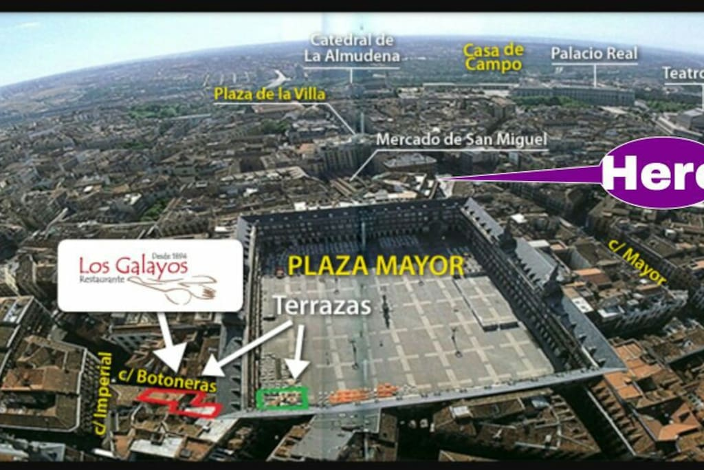 Located right in the center of Madrid