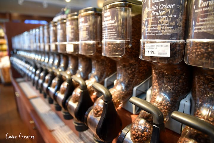 Get your Coffee beans at the fresh market