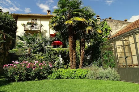 Lago Maggiore. Historic Villa with private garden - Dumenza