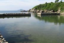porto romano (old roman port) location of gianola
