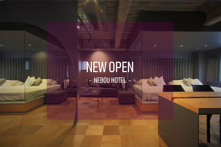Nightlife in OSaka★DesignerRoom★3min to station★4F