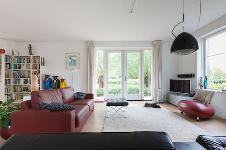 Beautiful villa next to Wageningen University - Wageningen - Huvila