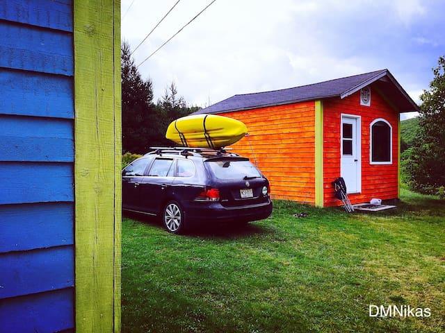 BS INVERNESS Rustic Orange Cabin by DMNikas