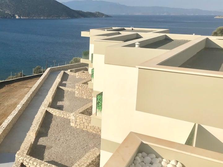 Amazing modern house, great sea views