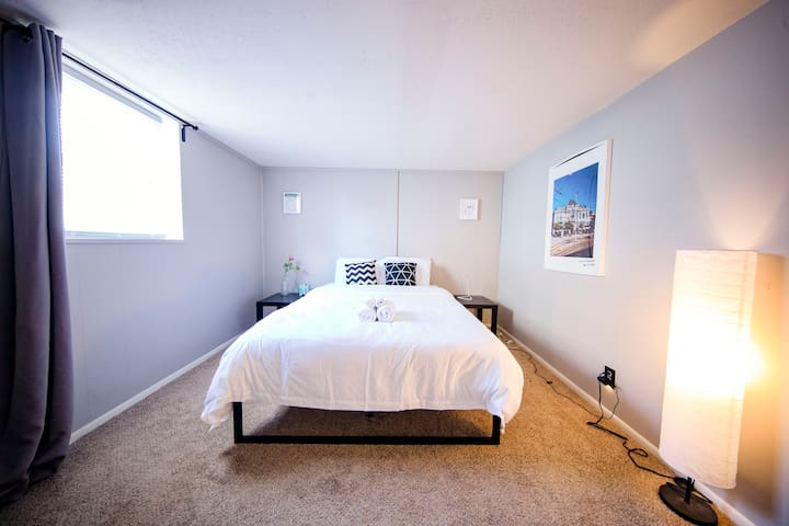 ★5-min to Columbus Airport★Fast WiFi★Free Parking★