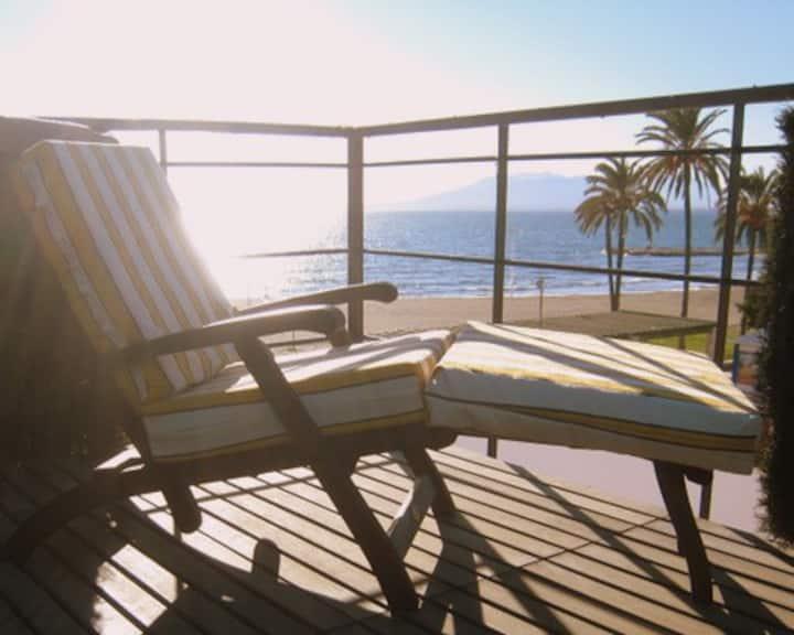 Malaga ,El Palo, Family Beach House with free wifi