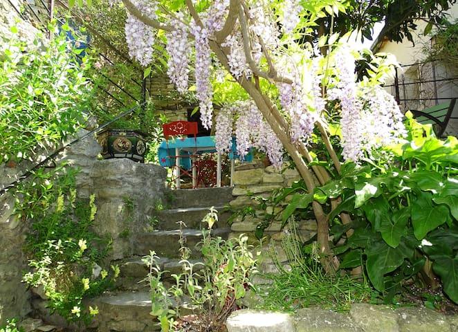 Artist's Paradise in Provence: Views!!! - Fontaine-de-Vaucluse - House