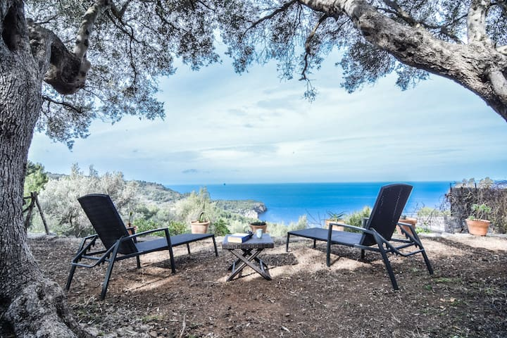 Charming house, stunnig sea views! - Deià