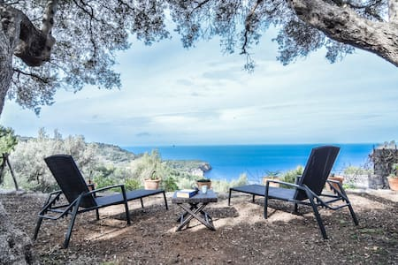 Casa con encanto y vistas al mar!