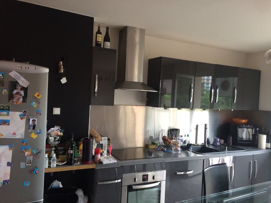 Appartement 3 pi ces tout confort appartements louer saint tienne auvergne rh ne alpes for Cuisine incorporee
