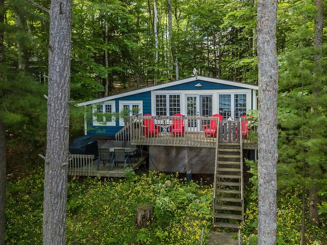Indian River Respite Lake Rosseau 3 Bedroom cottage in Port Carling