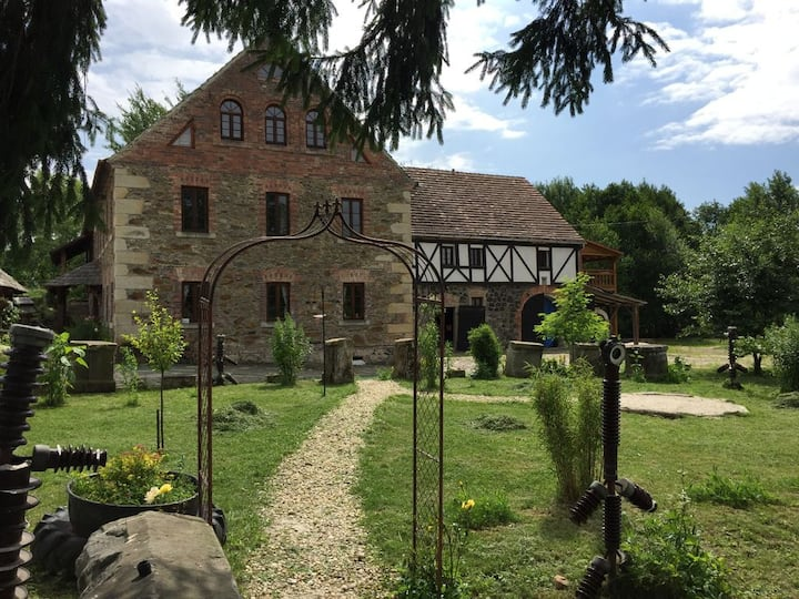 A  historical Mill in unique cultural environment