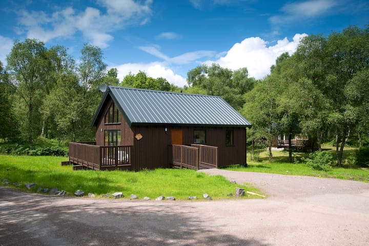 Bracken Log Cabin - Argyll and Bute - กระท่อม