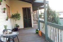 Main entry and front verandah
