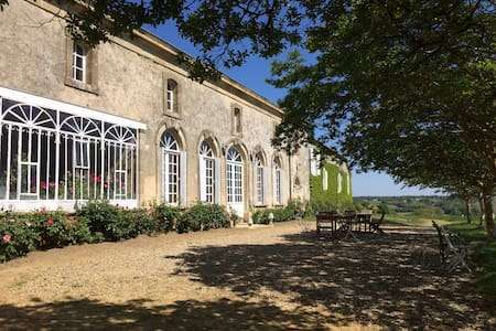 Orangerie d'un château bordelais - Brouqueyran - 城堡