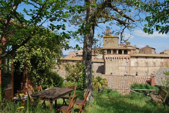 Ancient house of the Panicale friars
