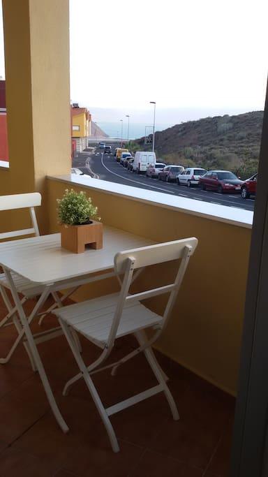 Terraza 2 con vistas al mar. Terrace 2 with sea view