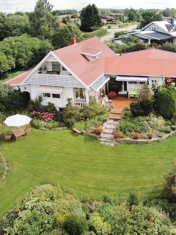 Fint hus med drømmehage