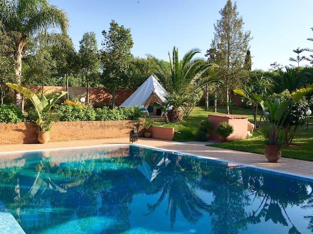 Tente nature bio et calme avec petit déjeuner - Casablanca - Sátor