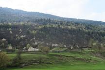 Castello di Serravalle a 900 m