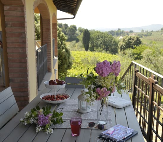 Comfort and view near San Gimignano - Gambassi Terme - Apartment