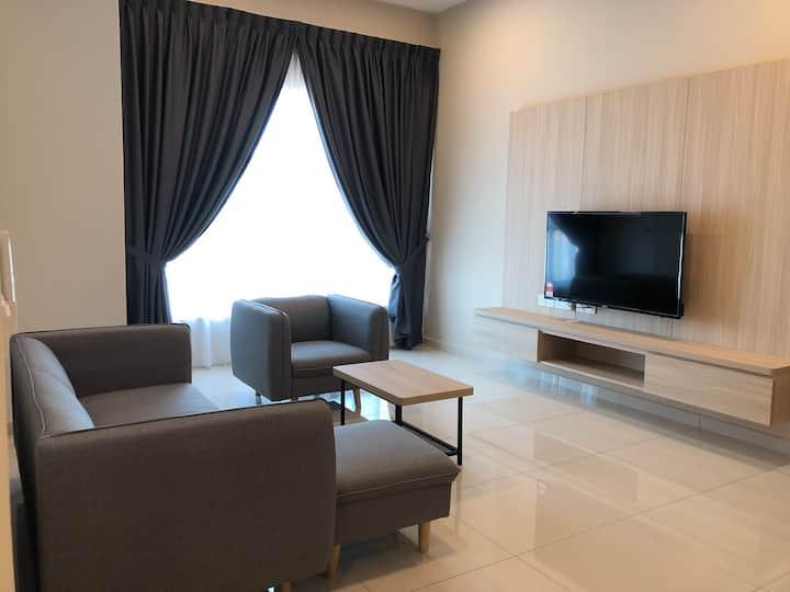Ong Kim Wee residence @staycation, 2BR/4minsJonker