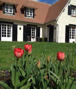 Maison proche forêt au calme - Saint-Martin-de-Boscherville - Dům