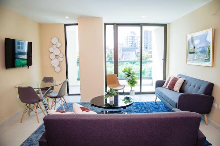 Apartamento Hortensia-Amplio de 2 Habs. en Astria