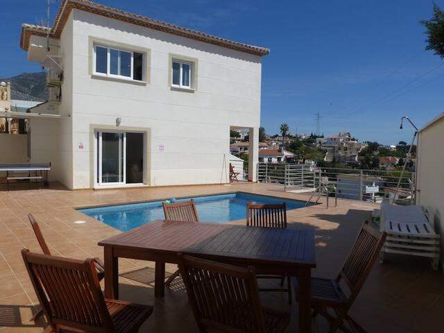 Villa Torreblanca with pool and views - Fuengirola - Hus