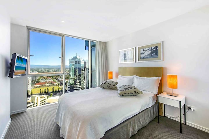 Luxury double room on 22nd floor with amazing view