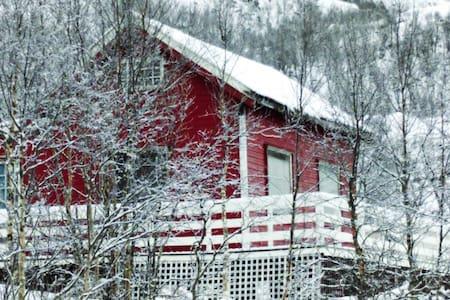 Liten hytte i Ryggedalen - Straumsjøen - Mökki