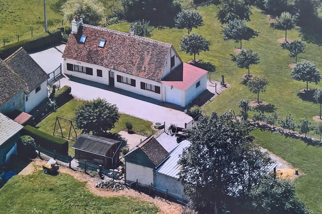 Maison de campagne case in affitto a m nil erreux - Maison de campagne normandie ...