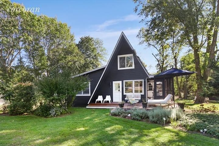 Renovated & Modern A-Frame Home