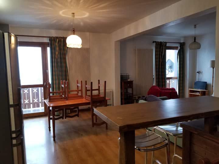 Appartement avec vue sur le Mont Blanc