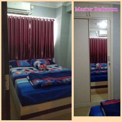 2BR Apartment with affordable price - East Jakarta - Leilighet