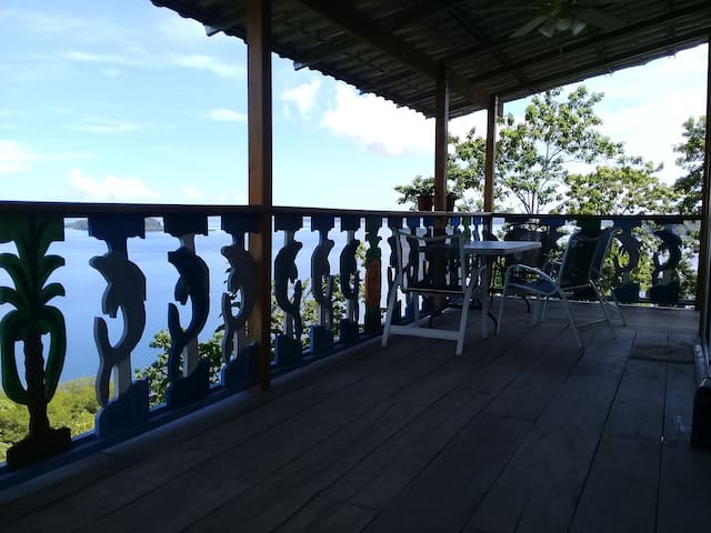 Canopy casita on Bahia Lomas with great views