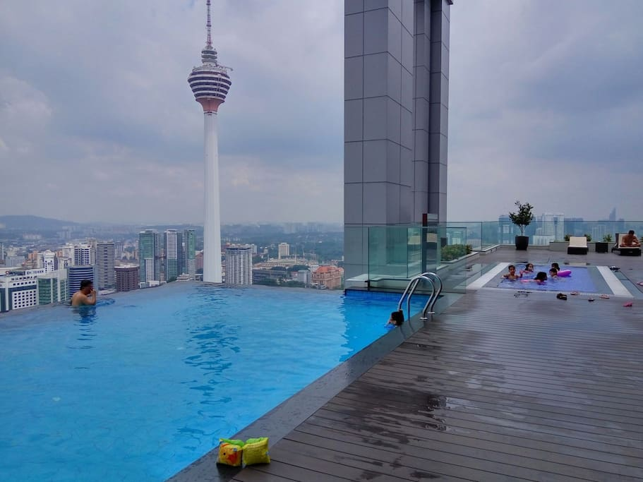 View of KL Tower from skydeck
