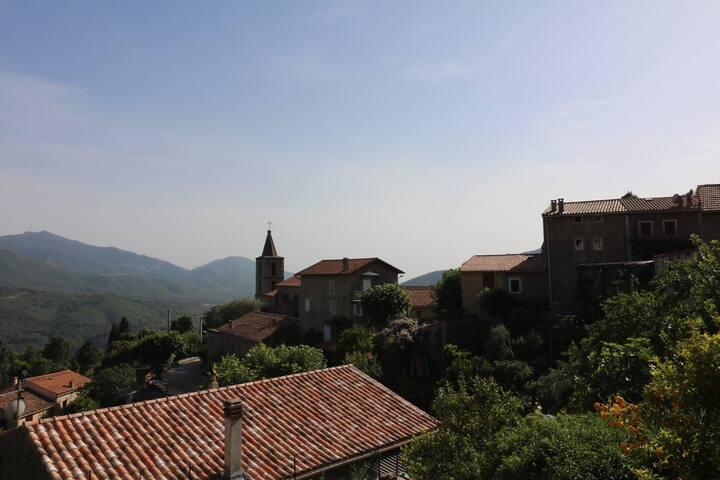 Village VERO près Ajaccio Authenticité Calme Vue - Vero - บ้าน