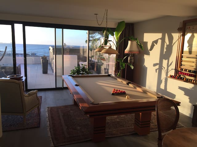 Room in gorgeous apt with breathtaking sea view - Carry-le-Rouet - Wohnung