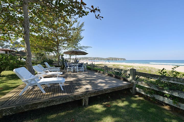 6 bedroons house right on the sand - Armacao dos Buzios - Byt