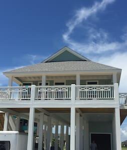 Seaglass - sleeps 12 - Crystal Beach - Cottage