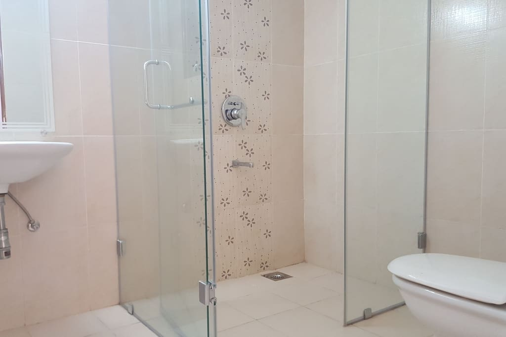 Bathroom with Glass Enclosure
