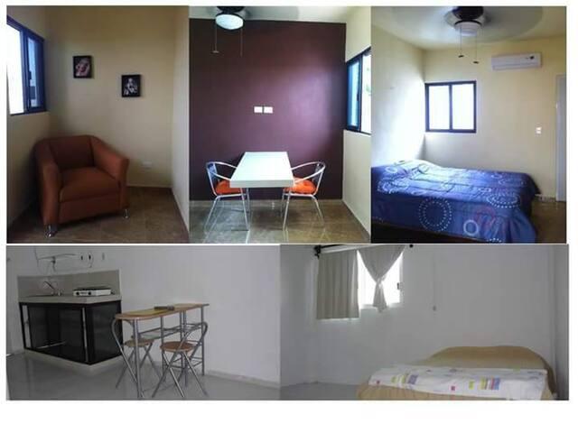 Departamento en zona tranquila - Mérida - Apartament