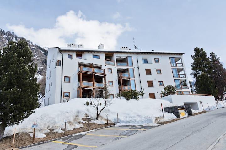 Piz Alv Pontresina Family apartment (5pax)